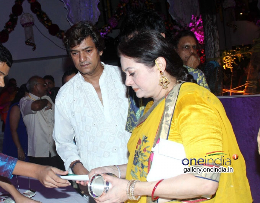 Shilpa Shetty Celebrates Krishna Janmashtami 2014 Photos