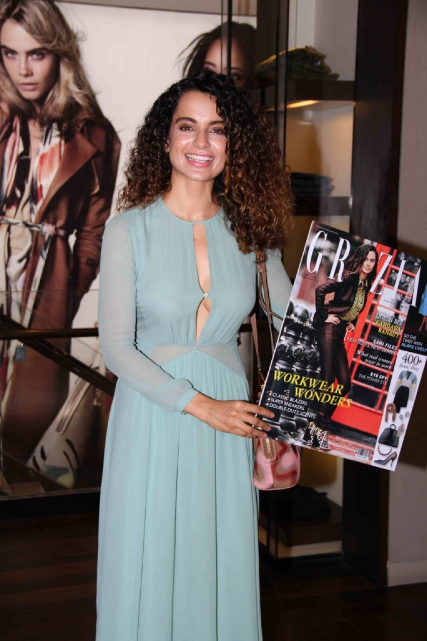 Kangana Ranaut launch cover of Grazia Magazine Photos