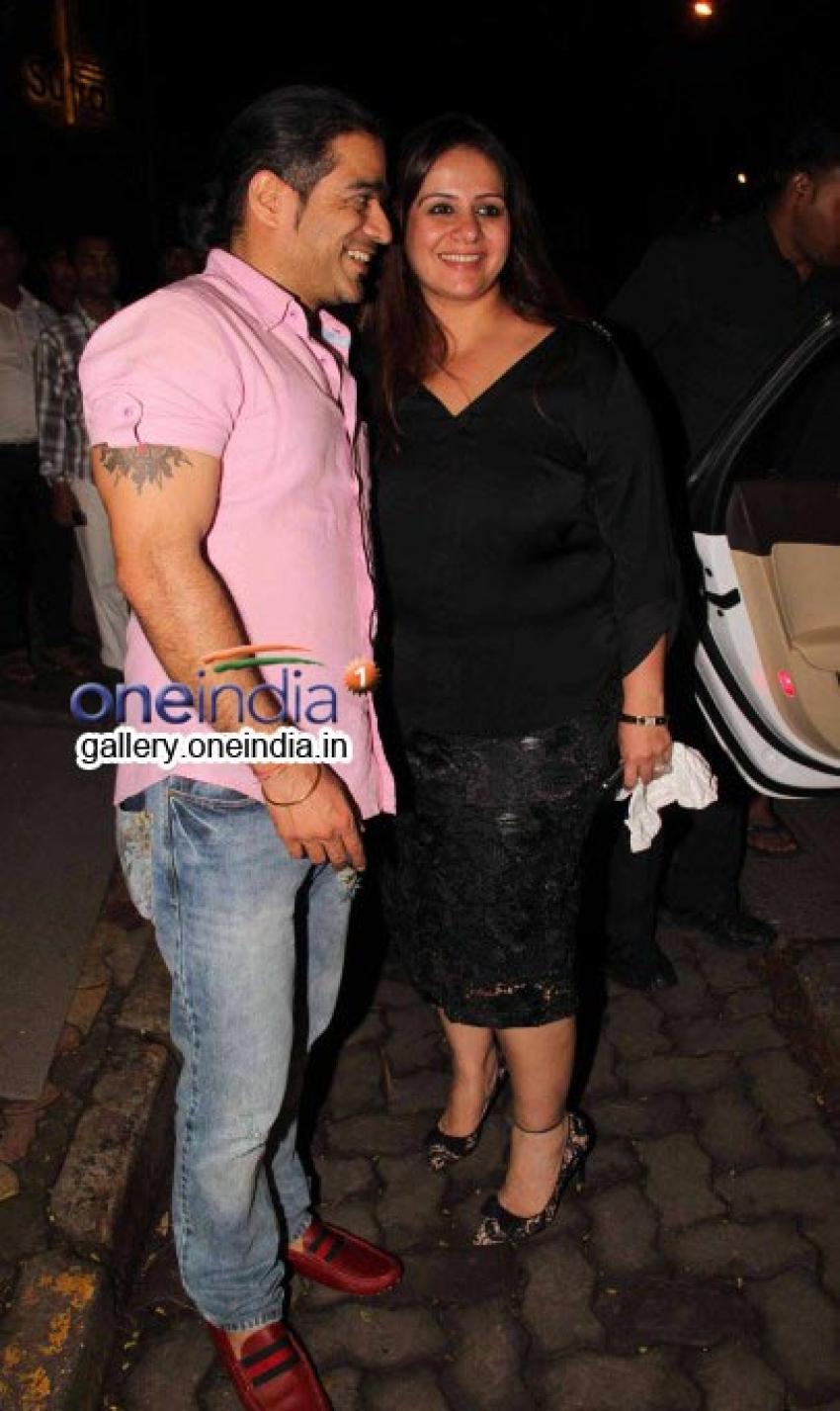 Aalia Bhatt and Amisha Patel snapped at Nido Photos