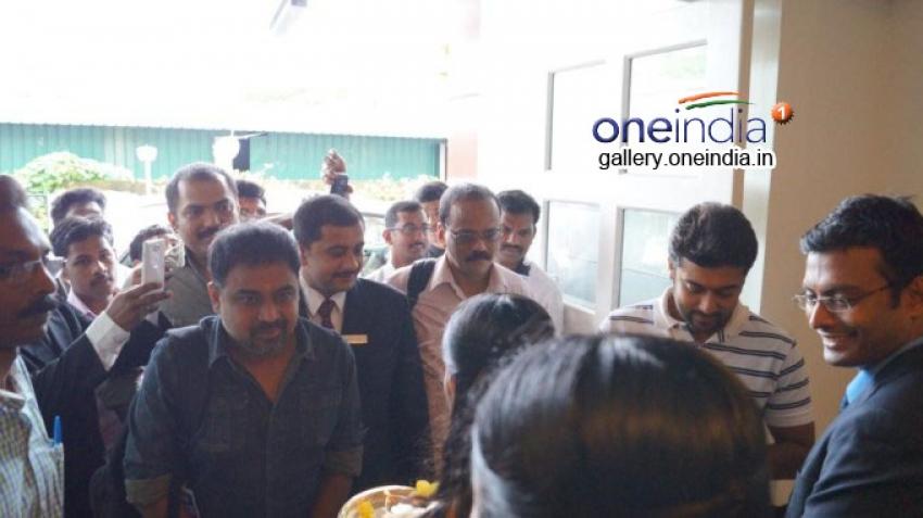 Suriya at Gokulam Park in Kochi Photos