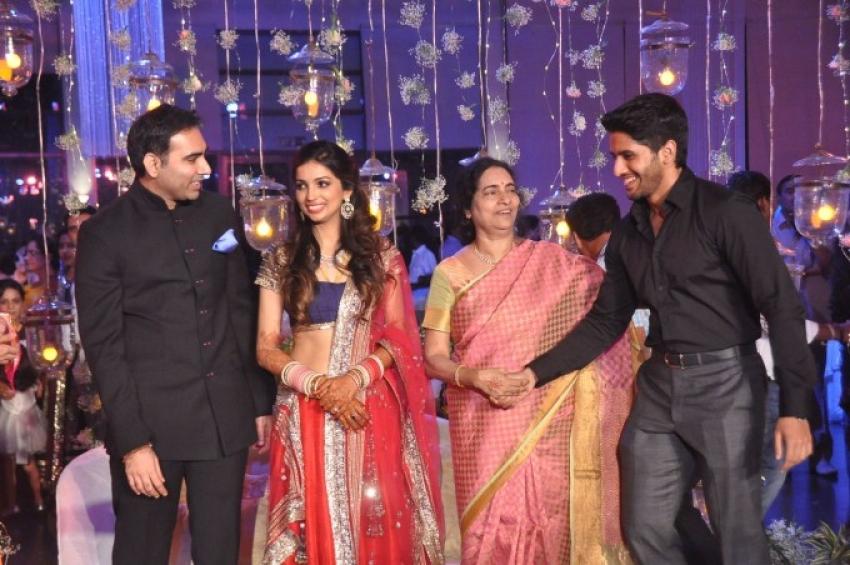 Raghavendra Rao Son Wedding Reception Photos