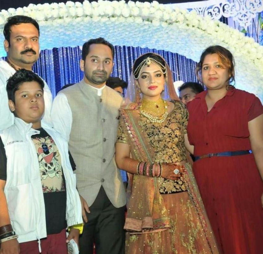Nazriya Nazim and Fahad Fazil Marriage Photos