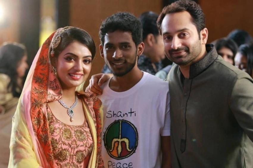Nazriya Nazim and Fahad Fazil Engagement Photos