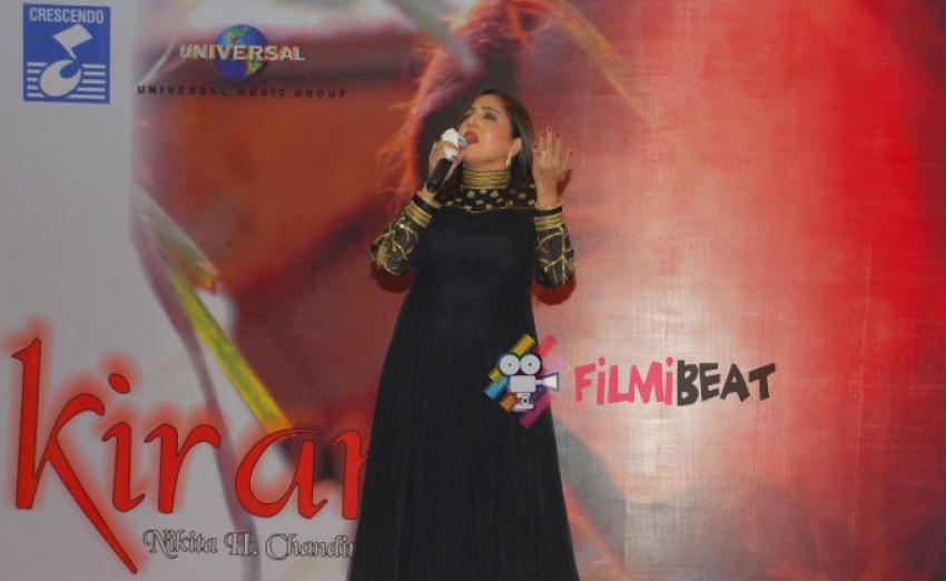 Nikita Chandiramani Launches Kiran Album Photos