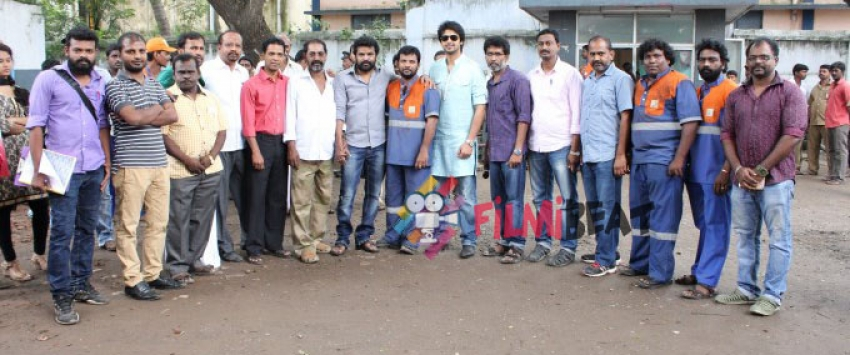 Oru Kuppai Katha Movie Launch Photos
