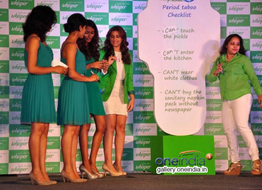 Parineeti Chopra Promotes Touch The Pickle Movement Photos