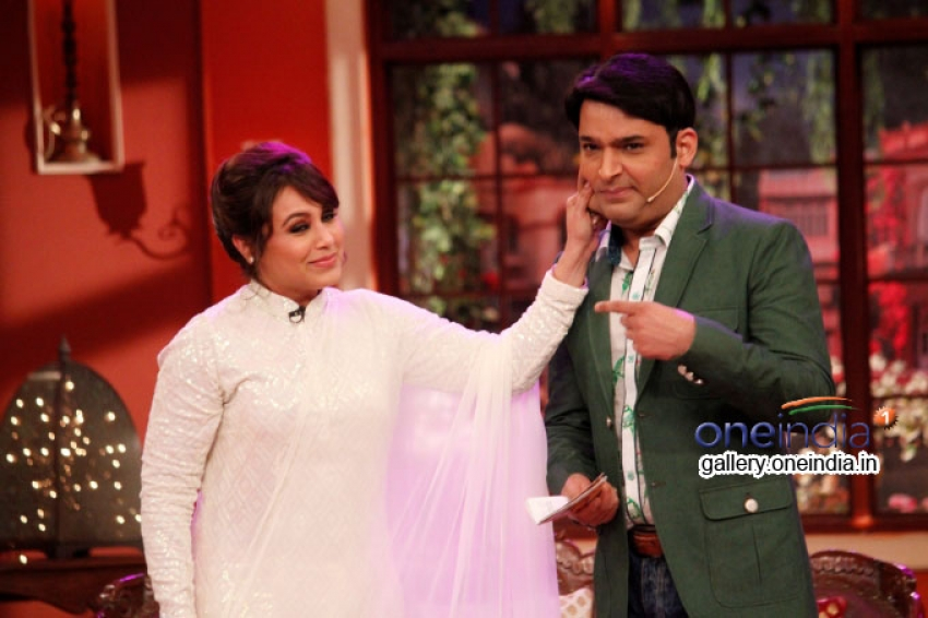 Mardaani Promotion on the sets of Comedy Nights with Kapil Photos