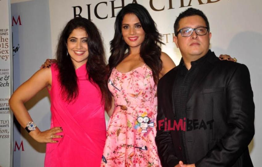 Richa Chadda unveils Maxim's latest issue Photos