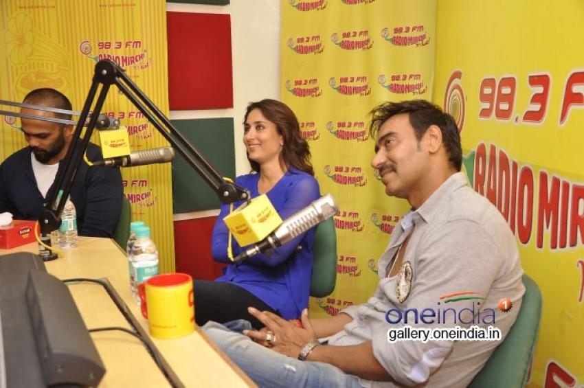 Singham Returns Promotions at Radio Mirchi 98.3 FM Photos