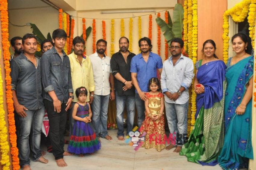 Sairam Shankar New Movie Jagadamba Launch Photos