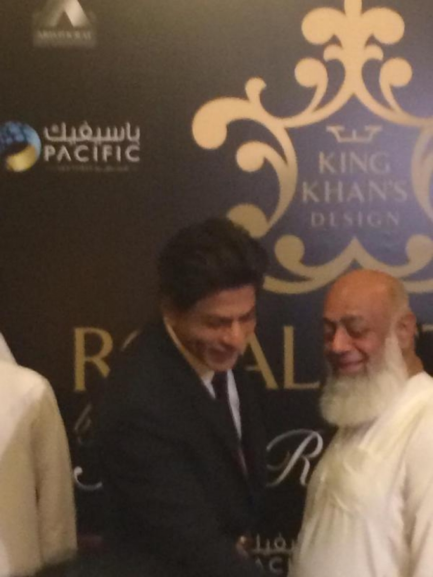 Shah Rukh Khan & Gauri Khan Launch Royal Estate in Dubai Photos