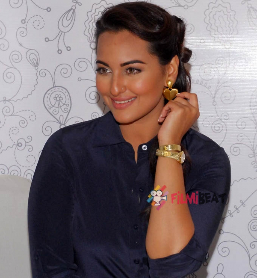 Sonakshi Sinha launches Swatch Fall Winter Collection Photos