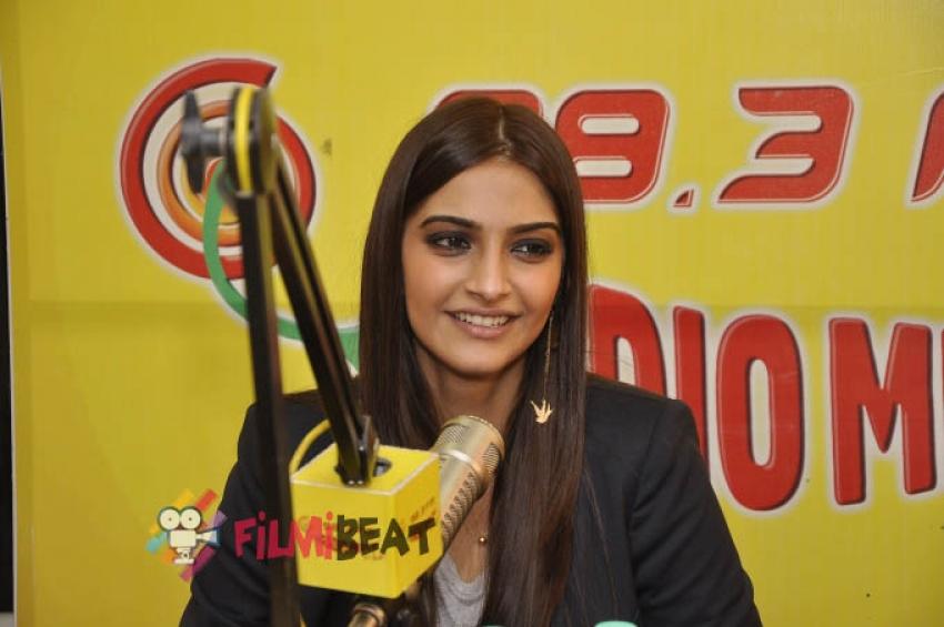 Khoobsurat Promotion at Radio Mirchi Photos