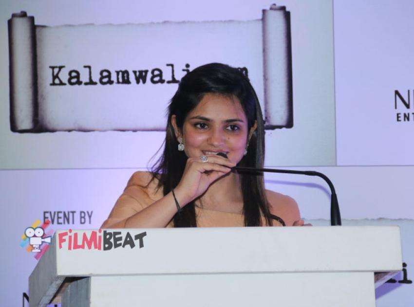 Kirti Kulhari launches Sonia Gandhi's kalamwali.com Photos