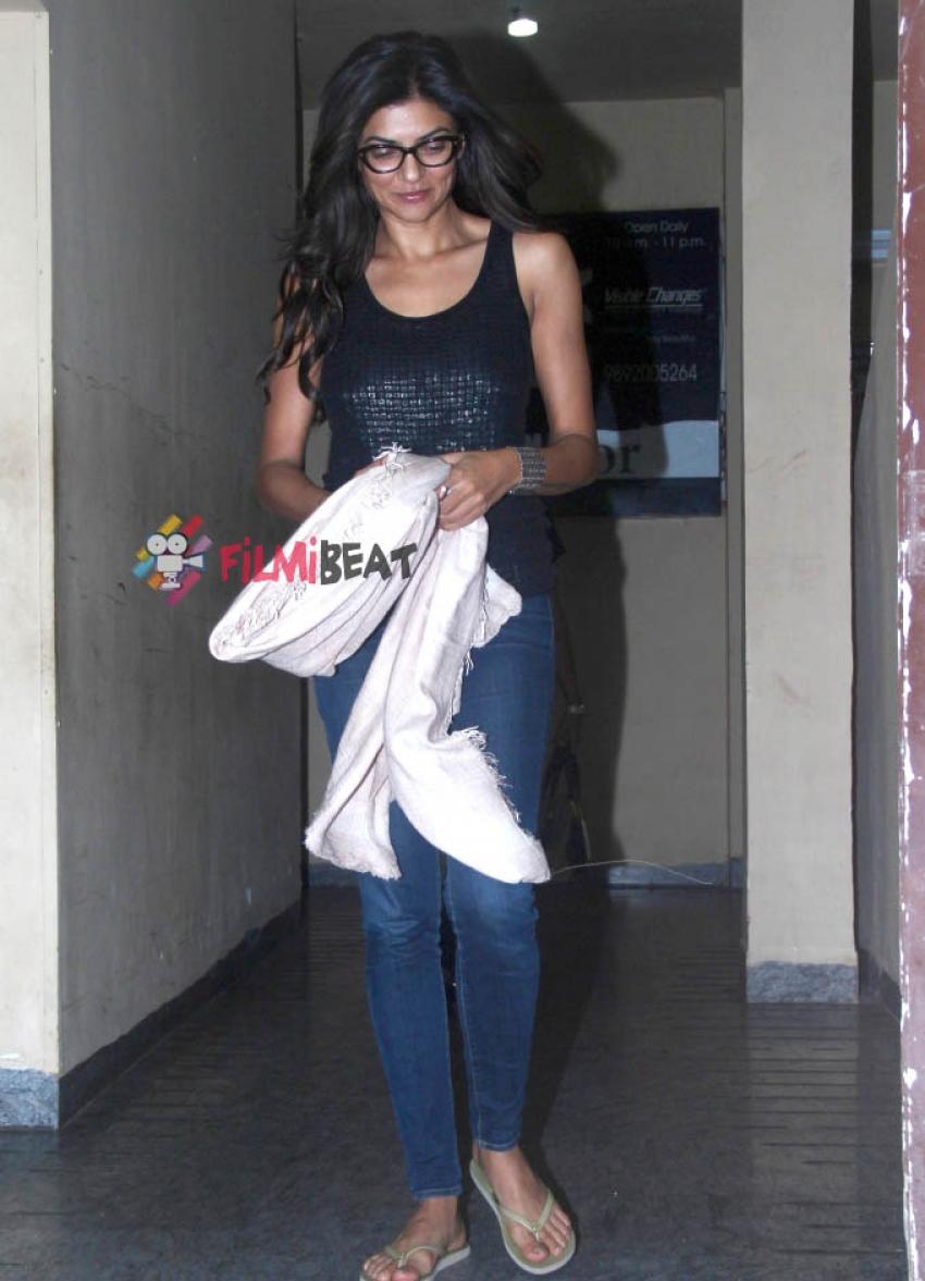 Sushmita Sen Snapped at PVR Juhu Photos