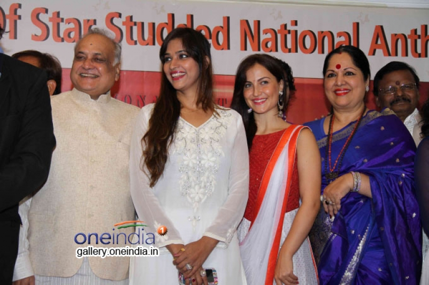 Indian National Anthem Video Launches Photos