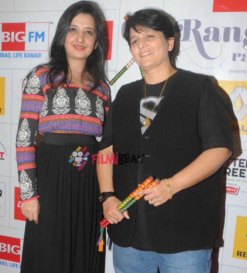 Amy Billimoria And Falguni Pathak Talk About The Dandiya Season Photos
