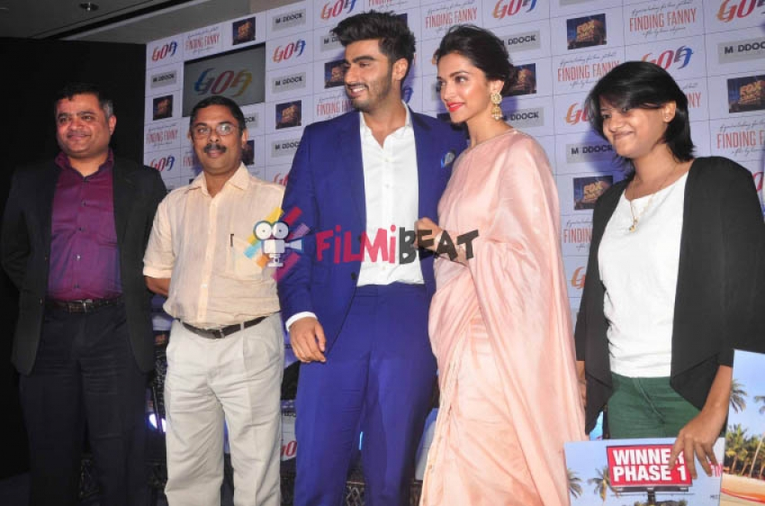 Deepika & Arjun Kapoor Starrer Finding Fanny Associates With Goa Tourism Photos