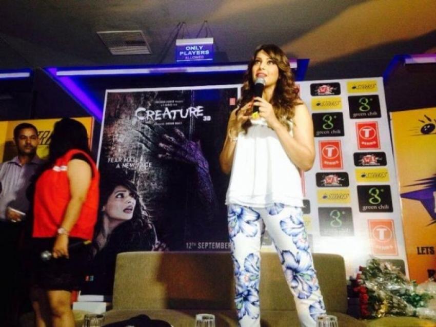 Bipasha Basu Promotes Creature 3d in Surat Photos