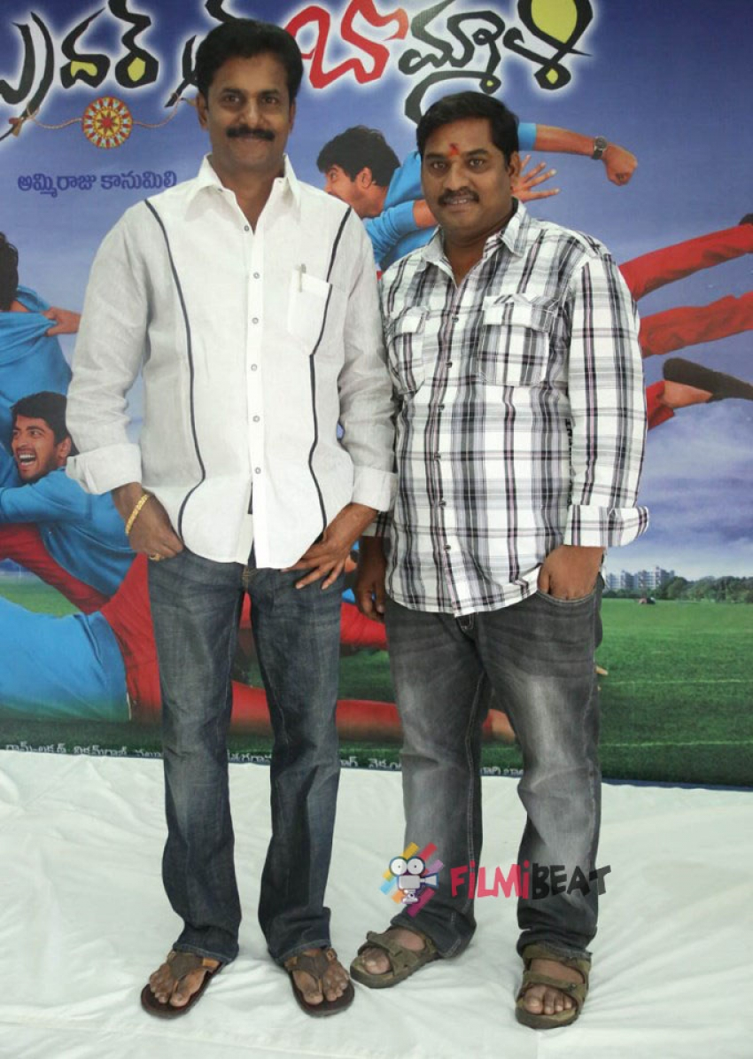 'Brother Of Bommali' First Look Launch Photos