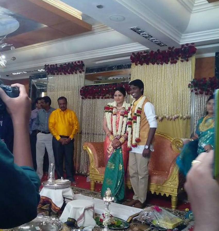 Director Atlee and Actress Priya Engagement Photos