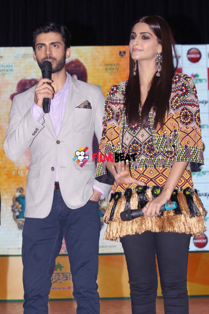 Launch of Sangam by Sonam Kapoor & Fawad Khan Photos