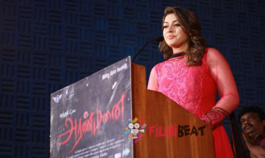 Aranmanai Audio Launch Photos