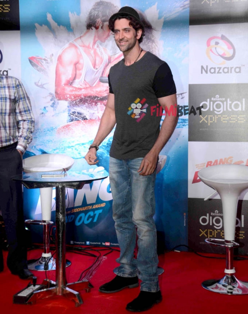 Hrithik Roshan Launches 'Bang Bang!' Mobile Game Photos