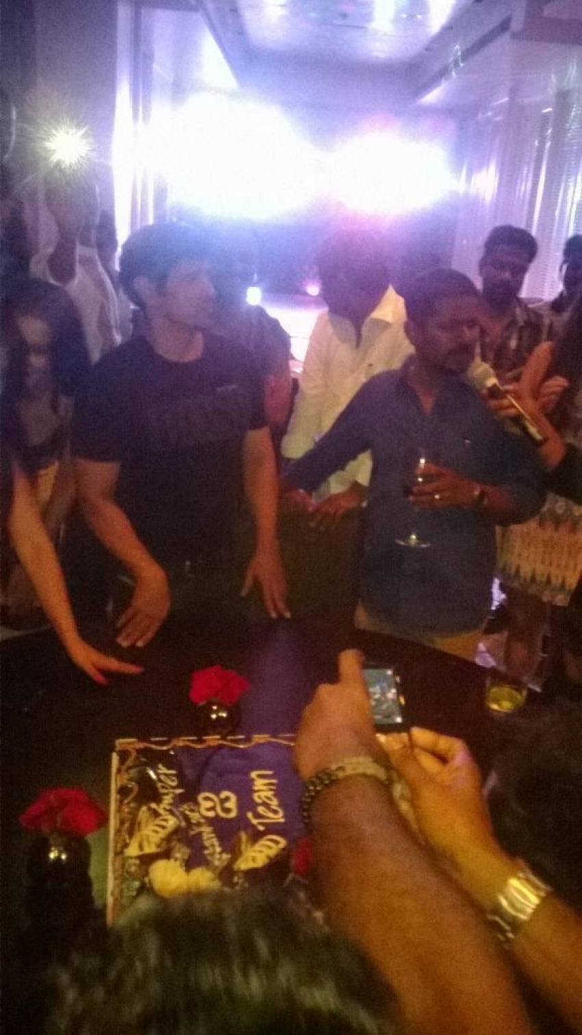I Movie Shooting Wrap Up Party Photos