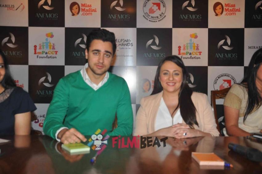 Imran Khan and Avantika Malik Supports Helping Hands NGO Photos