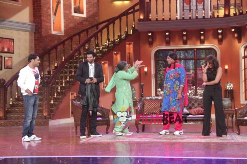 Daawat-e-Ishq Promotion on Comedy Nights with Kapil Photos