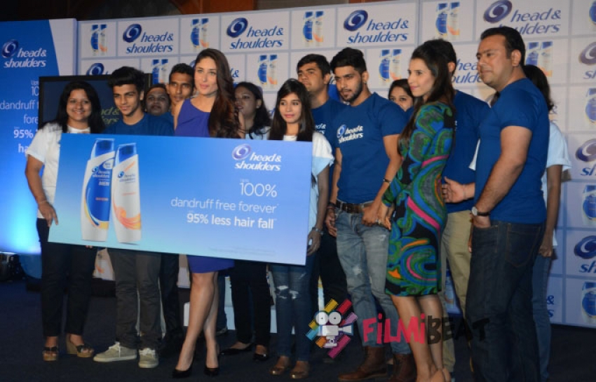 Kareena Kapoor Launches Head & Shoulders 'Ab Pyar Mein No Side Effects' Campaign Photos