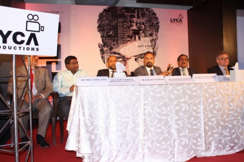 Kaththi Press Meet Photos