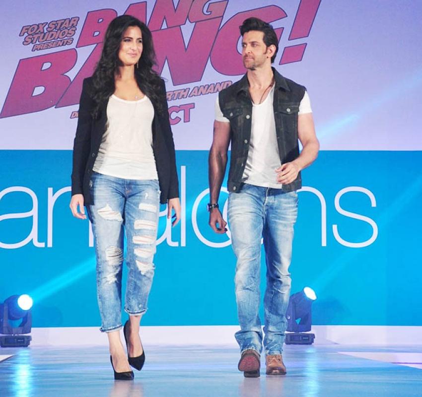 Bang Bang Promotion at Pantaloons Photos