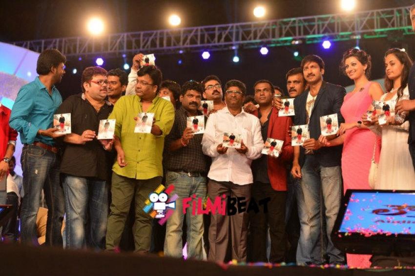 Loukyam Audio Launch Photos