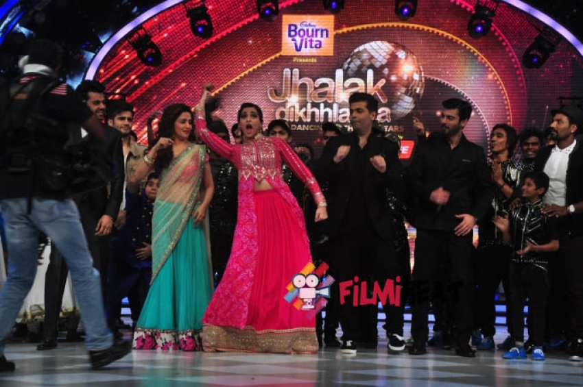 Khoobsurat Promotion on Jhalak Dikhhla Jaa Photos