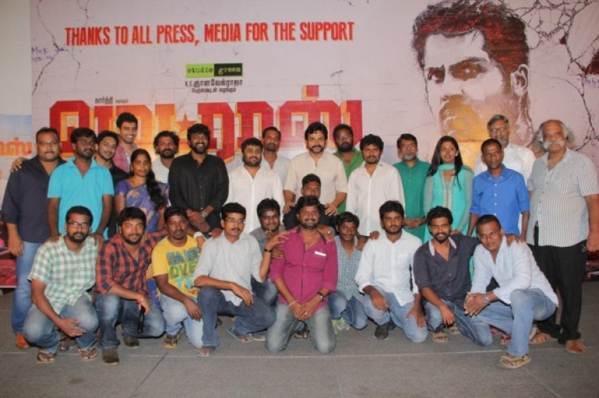 Madras Movie Success Meet Photos