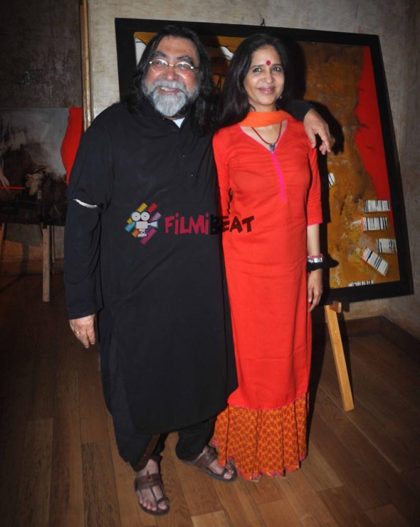 Dia Mirza At Jaya Lamba's Art Exhibition Photos