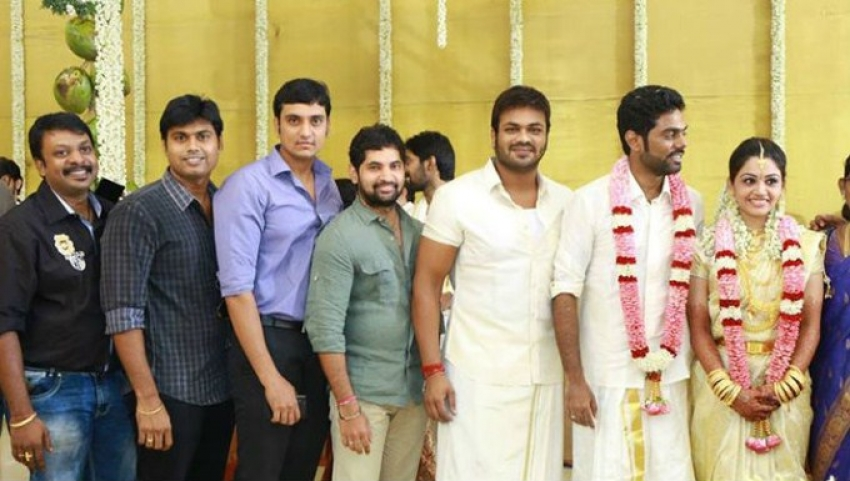 Music Director Achu Rajamani Marriage Photos