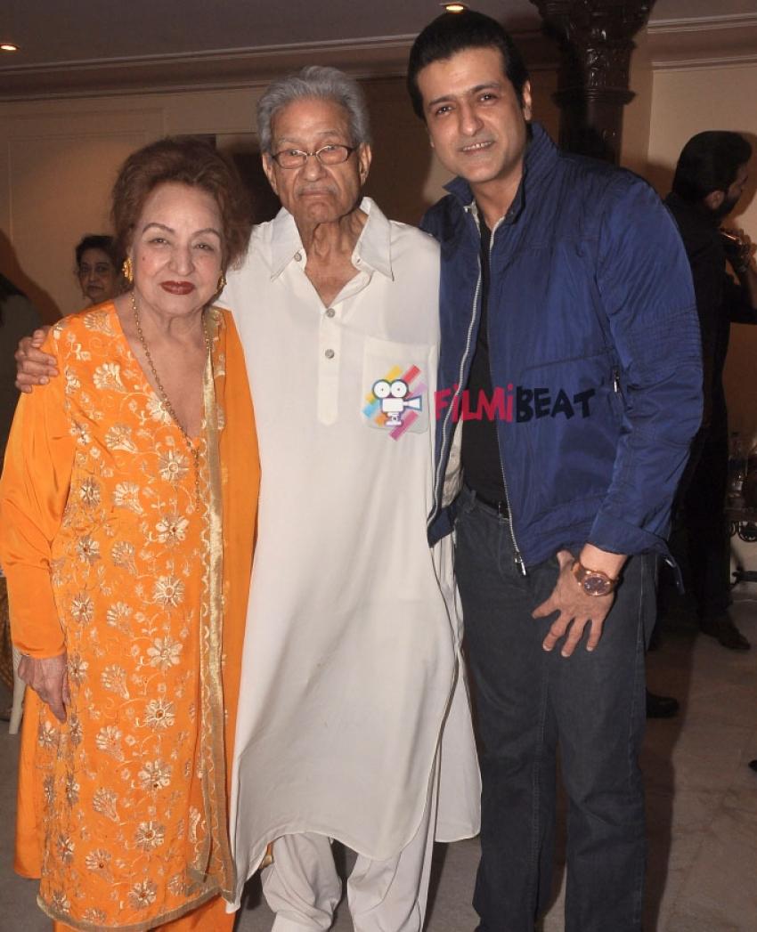 Armaan Kohli Celebrates His Father's Rajkumar Kohli's 85th Birthday Photos