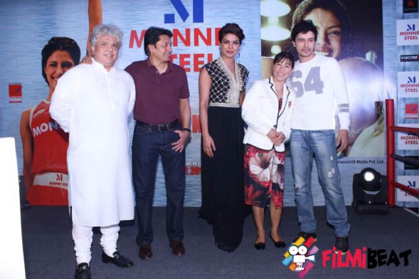 Priyanka Chopra & Mary Kom Launch Mary Kom Doll in New Delhi Photos