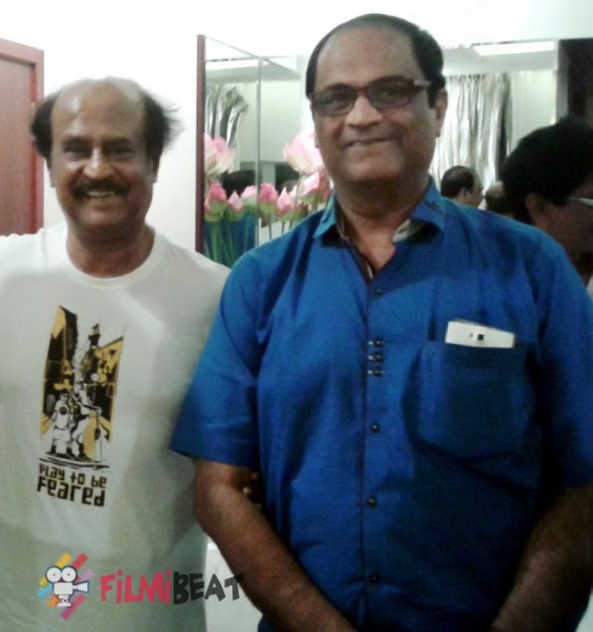 Rajinikanth And Mahesh Babu Movie -  Discussion Photos