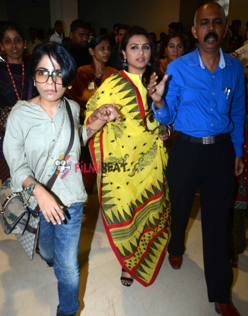 Rani Mukerji At The Launch of 'Right to Way For Ambulance' Campaign Photos