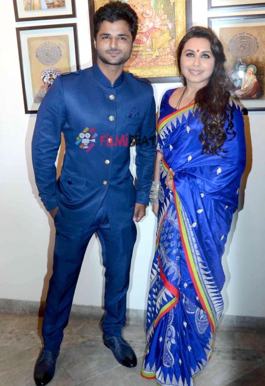 Rani Mukerji Inaugurates The Art Show 'An Art Collector's Paradise' Photos