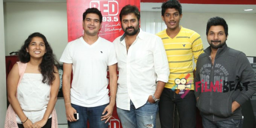 Rowdy Fellow Team at Red FM Photos