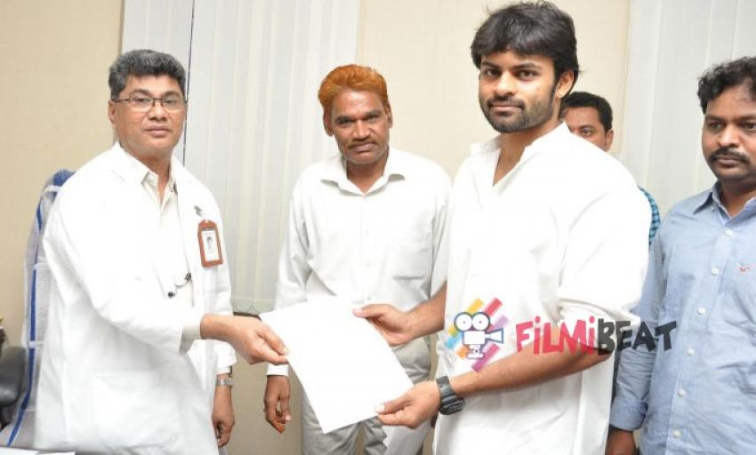 Pawan Kalyan Birthday Celebrations at Gandhi Hospital Photos