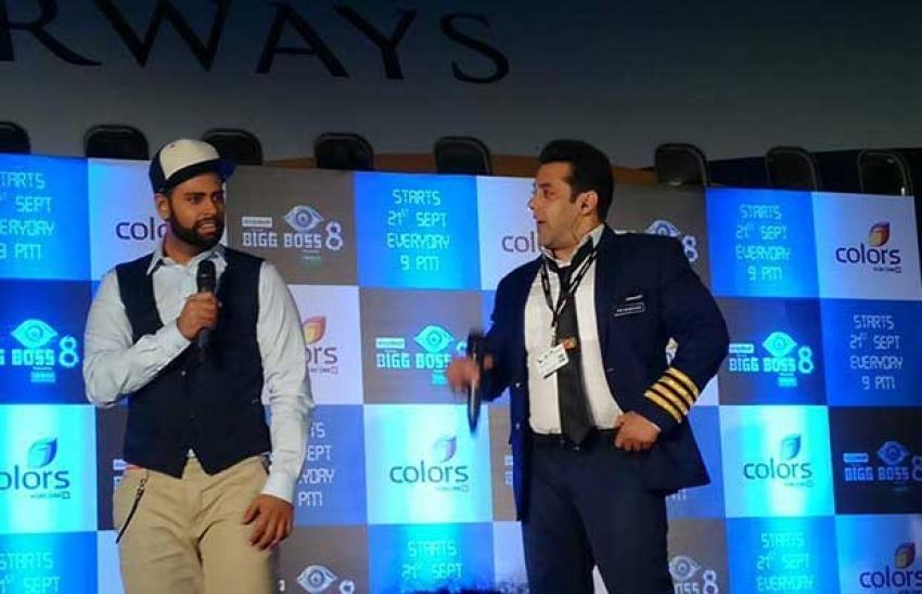 Salman Khan Inaugurating BiggBoss8 Photos