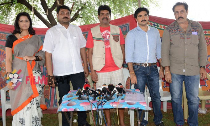 Sri Padmavathi Productions Movie Press Meet Photos
