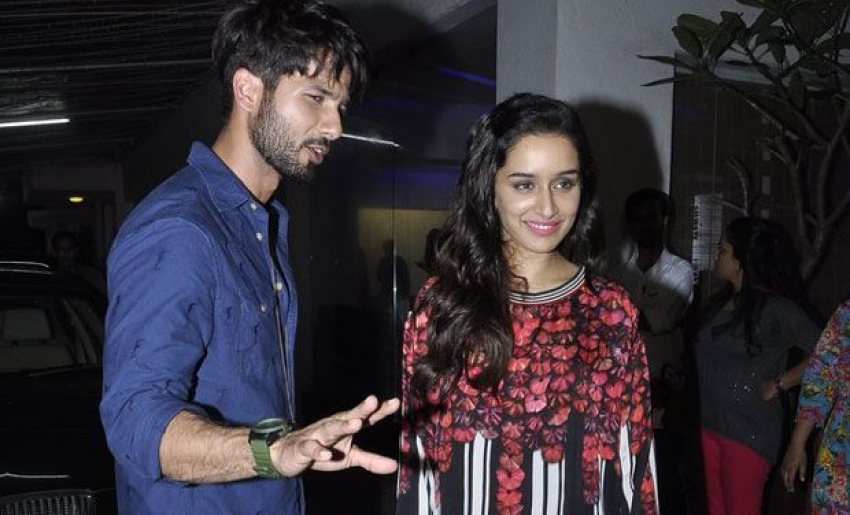 Shahid And Shraddha Host Special Screening of Haider Photos