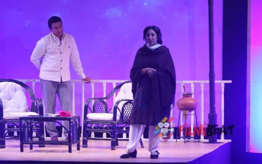 Ek Mulaqaat Play Performance by Deepti Naval and Shekhar Suman Photos
